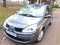 2007 Renault Grand scenic 1.5 DCI diesel 7 seater full service history