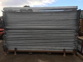 👷🏽 50 X New Heras Temporary Site Security Fence Panels