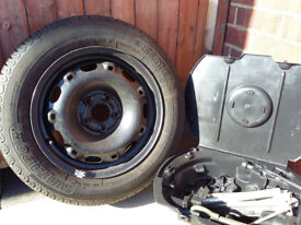 VW Polo spare wheel and jack