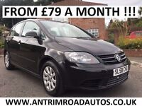 2008 VOLKSWAGEN GOLF PLUS LUNA 1.9 TDI ** FULL HISTORY ** FINANCE AVAILABLE **