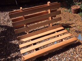 Wooden Futon Base small double size