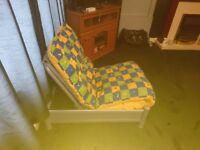 Single sofa bed folding chair