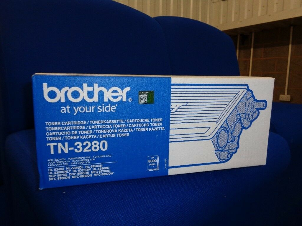Brother TN 3280 Toner cartridge - 1-pack Black - 8000 pg