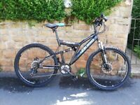 NEW FACTORY SOILED BOSS STEALTH DUAL SUSPENSION MTB