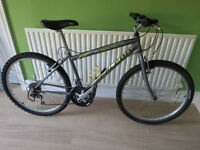 MENS MOUNTAIN BIKE, FALCON STEALTH, GOOD CONDITION FULLY WORKING READY TO RIDE AWAY.