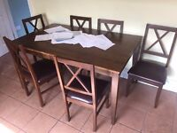 *MUST SEE* Dinning Table set (Table and 6 chairs)