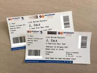 2 x J.Cole tickets Nottingham Arena