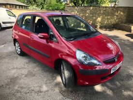 2005 Honda Jazz SE cvt , moted , part service history , 98k