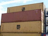 40ft Used Shipping Containers Only £1195 + Vat!! Ex London/ Essex Area