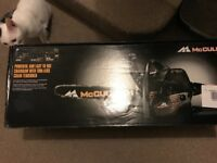 Brand new sealed in box petrol chainsaw bargai. £90