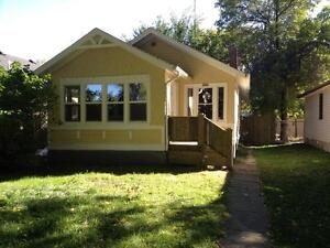 Newly renovated 2 bedroom character home with park like yard