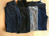 X 4 size 8 maternity New look skinny jeans