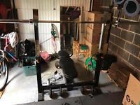 Bench/Squat Rack
