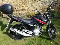 2013 Yamaha YBR125 Black 4875miles