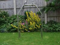 Stainless steel radar arch. Mint condition.