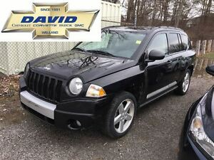 2010 Jeep Compass Limited 4WD, LEATHER, SUNROOF, LOCAL TRADE