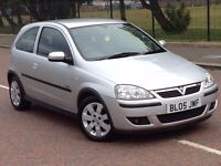 2005 Vauxhall corsa sxi 1.2 , mot - July 2017 , only 45,000 miles , 2 owners , clio,fiesta.207,polo