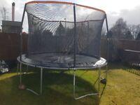 Fairly new trampoline