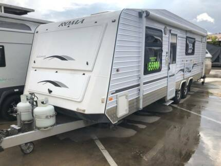 2011 Roma Elegance 23ft Caravan Burpengary Caboolture Area Preview