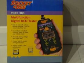 Multifunction Digital RCD Tester