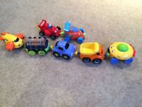 ELC magnetic vehicles x 7
