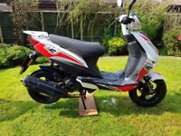 Beeline Veloce GT 50cc Moped Great Learner Ped