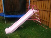 Chad Valley 7ft Straight Pink Slide - RRP £69.99