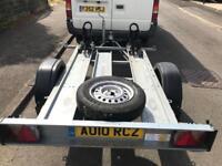 750kg Brenderup motorbike trailer + ramp/spare wheel