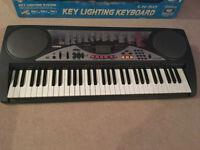 Casio LK-50 Keyboard with key lighting system. Excellent condition with original box