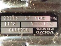 Volvo 2040 yacht gear box