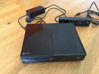 X box one console with Kinect day one edition