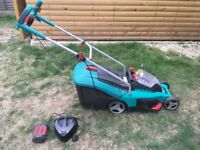 Bosch Rotak 37 Li Cordless Battery Ergo 36 Lawn Mower with Battery and Charger - RRP 379
