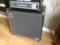 "Ampeg B-115E B-Series 200-Watt 1x15"" Bass Speaker Cabinet"