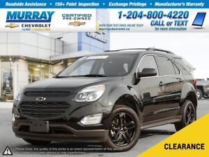 2017 Chevrolet Equinox LT *Remote Start, Climate Control, Heated