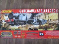 Hornby Codename: Strikeforce oo gauge Trainset,