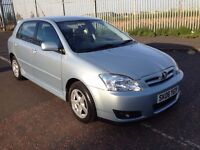 2006 Toyota Corolla 1.4 t-spirit , mot - April 2017 , only 56,000 miles ,service history,civic,focus