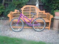"""Apollo Outrider, Ladies/ teenagers Mountain bike, 24"""" alloy wheels, 18 gears"""