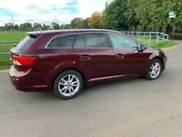 DIESEL FACELIFT TOYOTA AVENSIS 2012 5DR ***FULL YEAR MOT EXCELLENT CONDITION