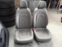 Audi A5 coupe full grey leather interior