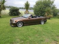 Amazing BMW e36 Convertible M3 Kitted