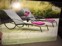 Loungers & Table Set
