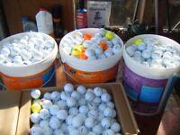 golf balls-over 1000