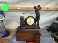 Julianna Golf Clock