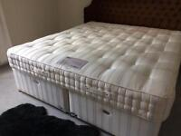Super king size bed with mattress