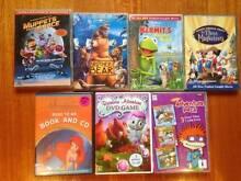 4 x Various DVD's/1 x CD/1 x DVD Game 1 X PC Game Hampton Bayside Area Preview