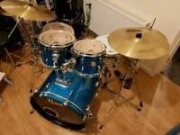 Pearl Export Drum Kit inc Hardware & Cymbals