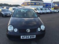 2005 (05) VOLKSWAGEN POLO TWIST AUTO BLACK