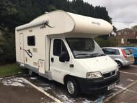 2005 Elnagh 6-berth Motorhome, 6 seatbelts