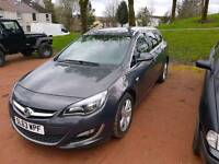 63 plate sri astra diesel estate 2.0l only done 38000miles