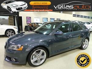 2011 Audi A3 2.0T**S-LINE**6SPEED**PANO RF**